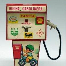 Juguetes antiguos Rico: HUCHA GASOLINERA RICO CAMPSA AÑOS 70. Lote 37254190