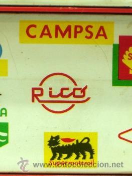 Juguetes antiguos Rico: Hucha gasolinera Rico Campsa años 70 - Foto 5 - 37254190