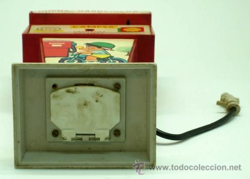 Juguetes antiguos Rico: Hucha gasolinera Rico Campsa años 70 - Foto 6 - 37254190