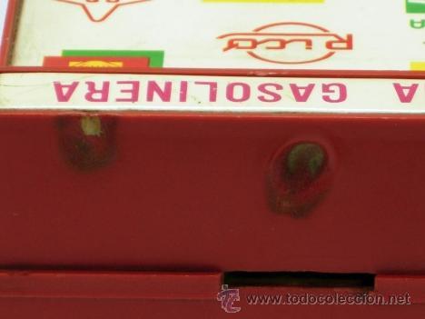 Juguetes antiguos Rico: Hucha gasolinera Rico Campsa años 70 - Foto 7 - 37254190