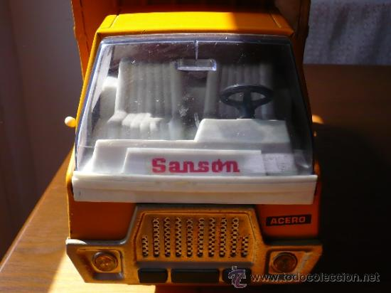Juguetes antiguos Rico: Camión Volquete Sanson de Rico. - Foto 3 - 38102396