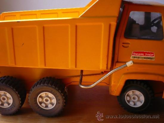 Juguetes antiguos Rico: Camión Volquete Sanson de Rico. - Foto 6 - 38102396