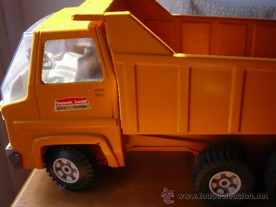 Juguetes antiguos Rico: Camión Volquete Sanson de Rico. - Foto 5 - 38102396