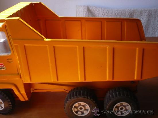 Juguetes antiguos Rico: Camión Volquete Sanson de Rico. - Foto 4 - 38102396