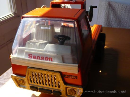 Juguetes antiguos Rico: Camión Grua Sansón de Rico. - Foto 7 - 38102650