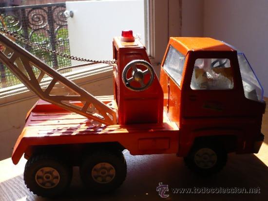 Juguetes antiguos Rico: Camión Grua Sansón de Rico. - Foto 5 - 38102650