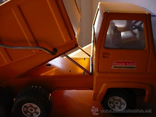 Juguetes antiguos Rico: Camión Volquete Sanson de Rico. - Foto 12 - 38102396