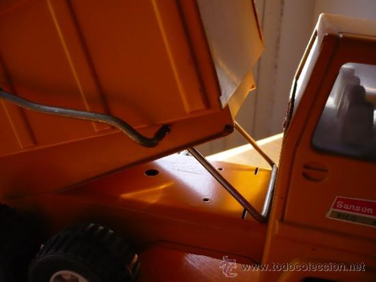 Juguetes antiguos Rico: Camión Volquete Sanson de Rico. - Foto 11 - 38102396