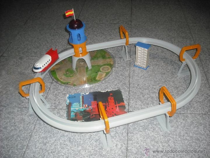 MONORAIL DE RICO - MONO RAIL - DESLIZADOR (Juguetes - Marcas Clásicas - Rico)