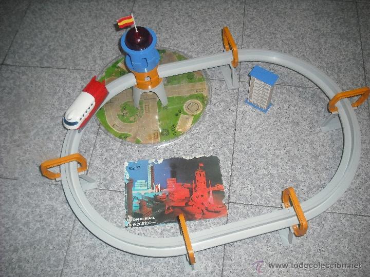 Juguetes antiguos Rico: Monorail de Rico - Mono rail - Deslizador - Foto 2 - 41494613