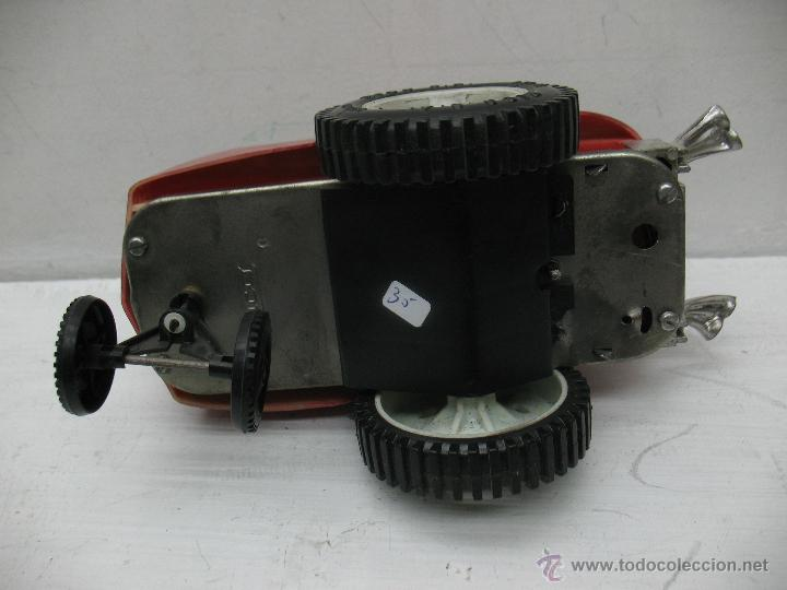 Juguetes antiguos Rico: Rico - Coche con Indio caballo loco con mecanismo a cuerda - Foto 5 - 41891981