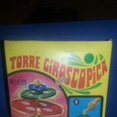 Juguetes antiguos Rico: ANTIGUA TORRE GIROSCOPICA DE RICO. Lote 42699648