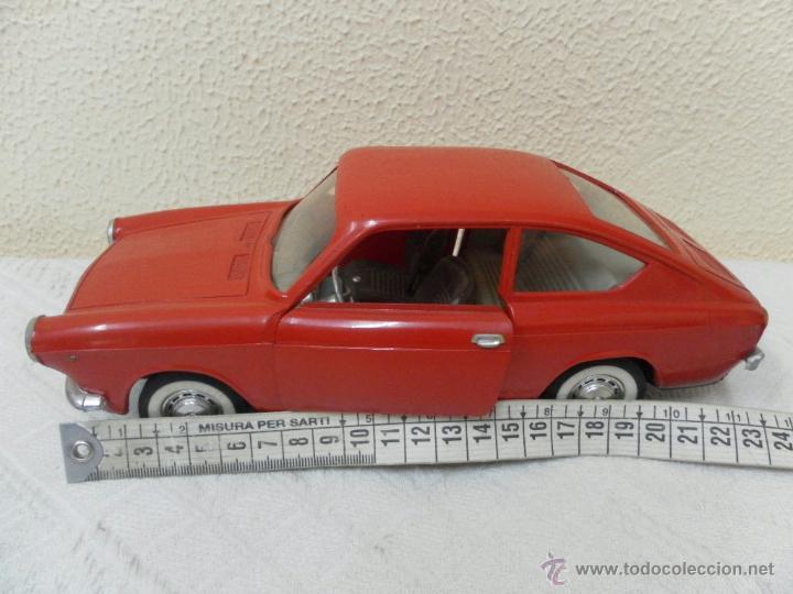 Juguetes antiguos Rico: Seat 850 Coupé de Rico, de fricción. - Foto 10 - 51699429