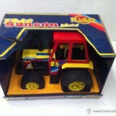 Juguetes antiguos Rico: TRACTOR TRAC METAL SANSON DE RICO SIN USAR. Lote 43323315