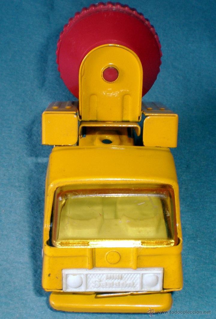Juguetes antiguos Rico: CAMION HORMIGONERA Mini SANSON hojalata Y PLASTICO MARCA RICO. Medidas 13 x 5,5 x 8,5 cm. NUEVO. - Foto 3 - 44866547