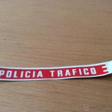 Juguetes antiguos Rico: RICO ADHESIVO POLICIA TRAFICO FORD GALAXIE. Lote 45311785