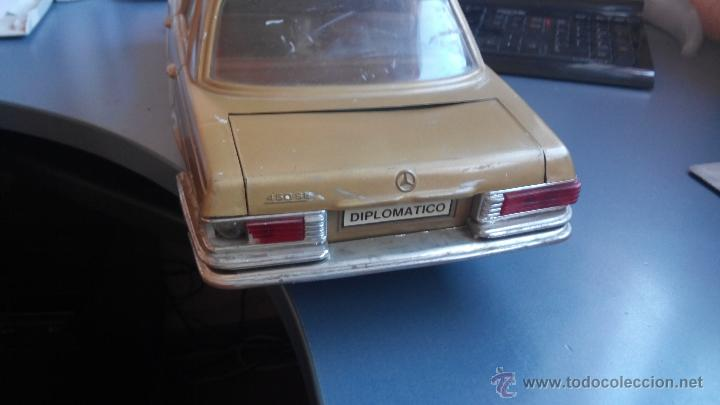 Juguetes antiguos Rico: coche mercedes diplomatic de rico - Foto 6 - 46057687
