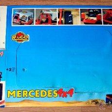 Juguetes antiguos Rico: RICO. CAJA ORIGINAL. MERCEDES 4X4. Lote 56825978