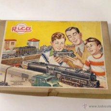 Juguetes antiguos Rico: TREN RICO AÑOS 50, A CUERDA, EN MUY BUEN ESTADO. Lote 49334565