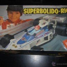 Juguetes antiguos Rico: COCHE TELEDIRIGIDO SUPERBOLIDO SUPER BOLIDO DE RICO. EN CAJA ORIGINAL.. Lote 49528225