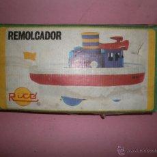 Juguetes antiguos Rico: REMOLCADOR RICO. Lote 49658129