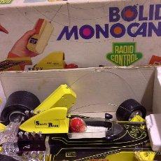 Juguetes antiguos Rico: BOLIDO MONOCANAL RADIO CONTROL RICO REF 87. Lote 50352762