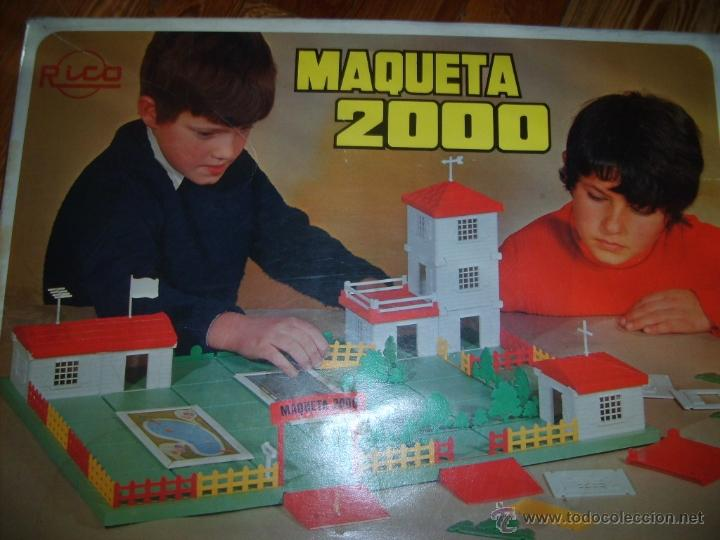 RICO MAQUETA 2000 AÑOS 60 (Juguetes - Marcas Clásicas - Rico)