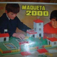 Juguetes antiguos Rico: RICO MAQUETA 2000 AÑOS 60. Lote 51599515