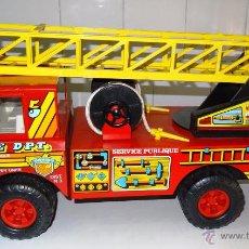 Juguetes antiguos Rico: CAMION BOMBEROS SANSON TURBO FIRE DPT. SERVICE PUBLIQUE DE RICO. Lote 53411821