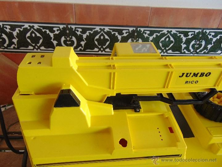 Juguetes antiguos Rico: GRAN CAMION GRUA JUMBO DE JUGUETES RICO MUY CUIDADA - Foto 19 - 55050974