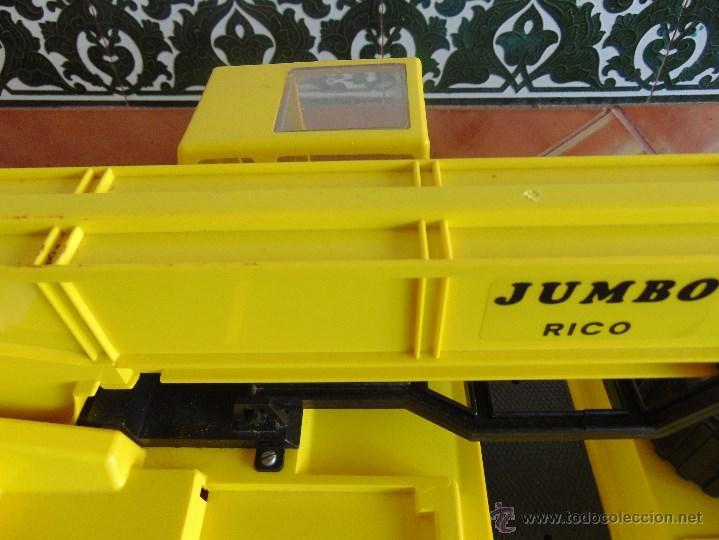 Juguetes antiguos Rico: GRAN CAMION GRUA JUMBO DE JUGUETES RICO MUY CUIDADA - Foto 22 - 55050974