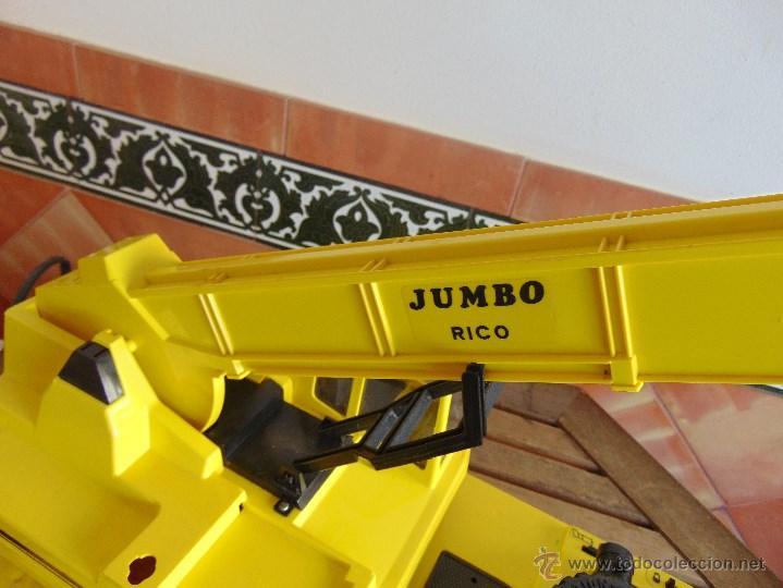 Juguetes antiguos Rico: GRAN CAMION GRUA JUMBO DE JUGUETES RICO MUY CUIDADA - Foto 33 - 55050974