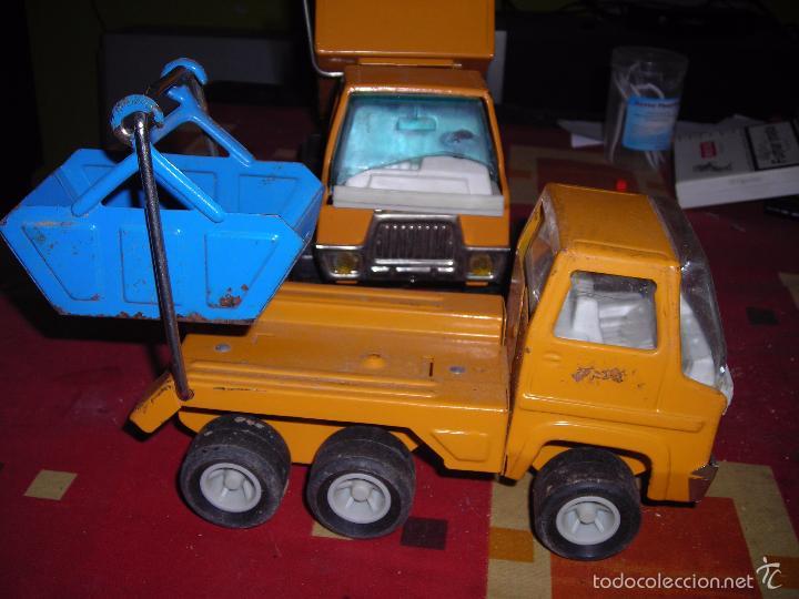 Juguetes antiguos Rico: camion volquete y otro. como se ve - Foto 2 - 57137442