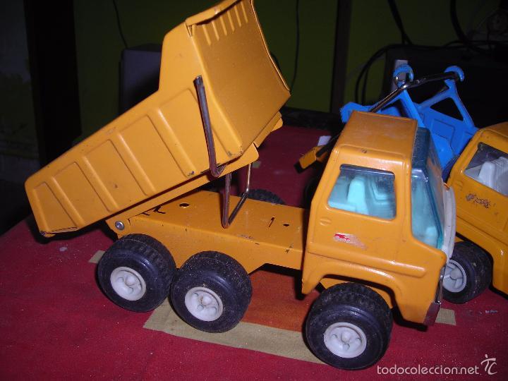 Juguetes antiguos Rico: camion volquete y otro. como se ve - Foto 3 - 57137442