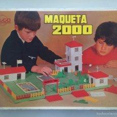 Juguetes antiguos Rico: RICO : MAQUETA 2000 EN CAJA.REF: 125, JUGUETE DE CONSTRUCCIÓN AÑOS 60. Lote 57152461