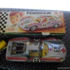 Juguetes antiguos Rico: PORSCHE GT ELECTRICO CONDUCIDO RICO. Lote 58080864