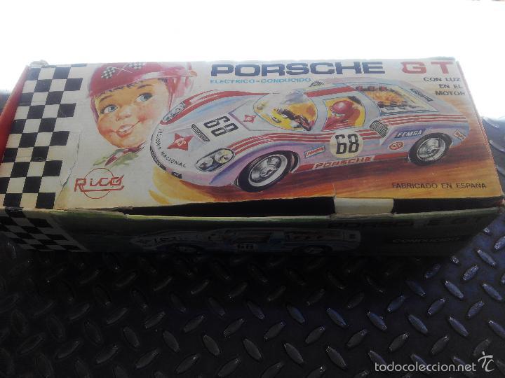 Juguetes antiguos Rico: PORSCHE GT Electrico Conducido RICO - Foto 3 - 58080864