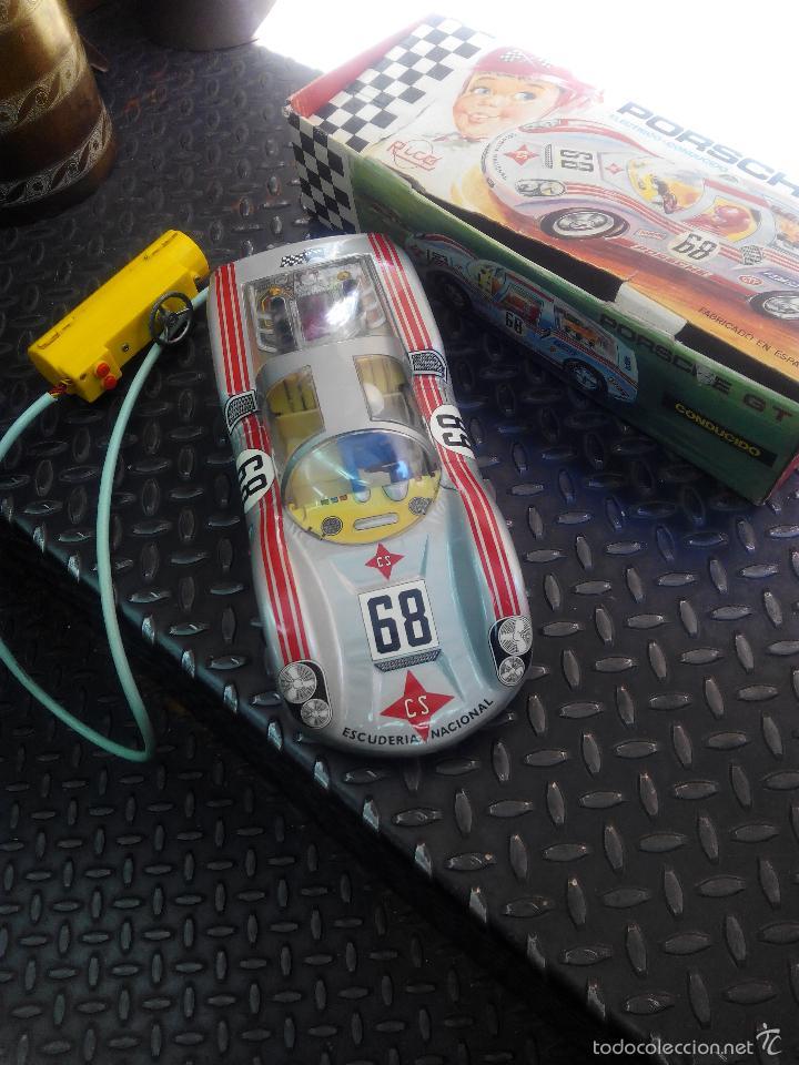 Juguetes antiguos Rico: PORSCHE GT Electrico Conducido RICO - Foto 5 - 58080864