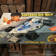 Juguetes antiguos Rico: SUPERBOLIDO DE RICO DIRIGIDO A EXTRENAR. Lote 58228368