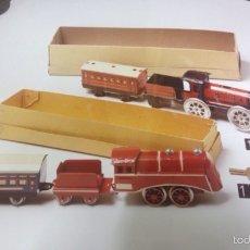 Juguetes antiguos Rico - Trenes de la marca rico en sus cajas 1928 - 58357609
