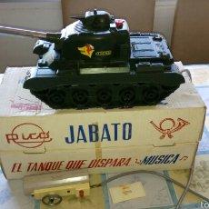 Juguetes antiguos Rico: RICO. TANQUE JABATO.. Lote 61200525