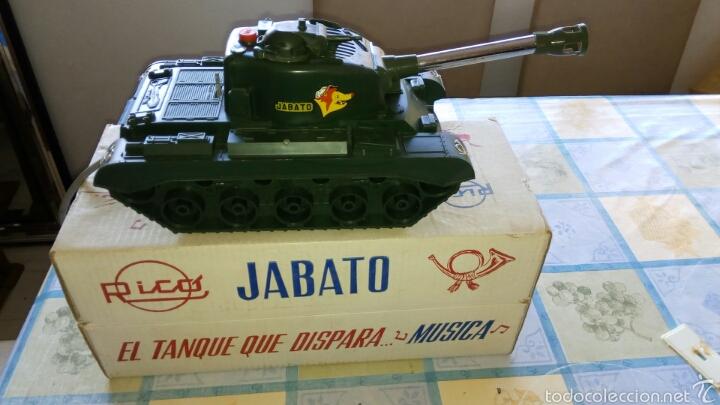Juguetes antiguos Rico: Rico. Tanque Jabato. - Foto 2 - 61200525