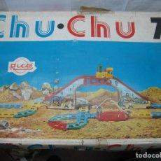 Juguetes antiguos Rico: RICO REF: 136 - CIRCUITO TREN DE FERIA CHU CHU 73. Lote 68023573