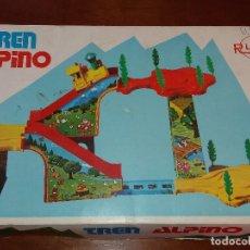 Juguetes antiguos Rico: ANTIGUO TREN ALPINO DE RICO AÑOS 70 FUNCIONANDO. Lote 70083925