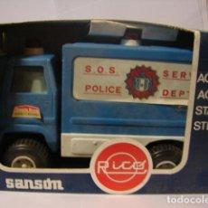 Brinquedos antigos Rico: CAMIÓN SANSON BRAVO 452 S.O.S. POLICE - RICO. Lote 71492086