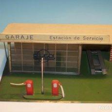 Juguetes antiguos Rico: GARAJE ESTACION DE SERVICIO PARA MINIATURAS RICO. Lote 72954519