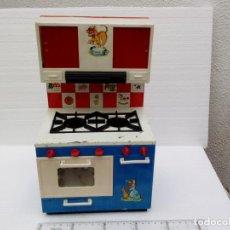 Juguetes antiguos Rico: -ANTIGUA COCINA -RICO -LATA PLASTICO -MUY BONITA. Lote 73115395