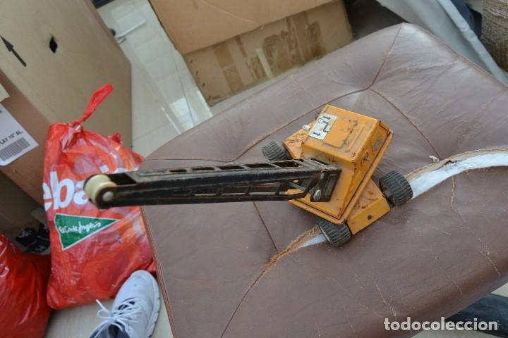 Juguetes antiguos Rico: grua rico de chapa - Foto 2 - 73709915