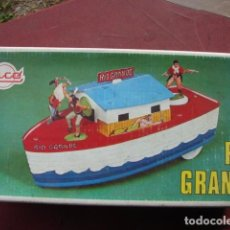 Juguetes antiguos Rico: ANTIGUO BARCO RIO GRANDE - RICO. Lote 75101599