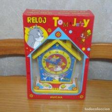 Juguetes antiguos Rico: RELOJ HUCHA DE RICO TOM & JERRY A ESTRENAR * SIN ABRIR *. Lote 75109627